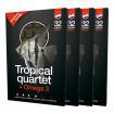 Diepvriesvoer <br>Tropisch kwartet & omega 3