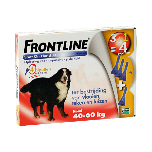 Frontline Spot On XL 4 pipetten