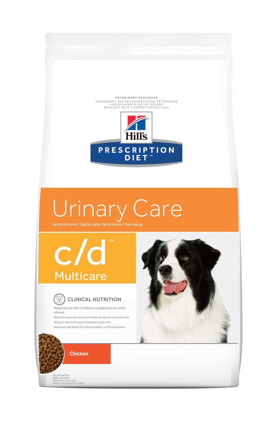 Hill's Prescription Diet hondenvoer c/d Multicare 2 kg