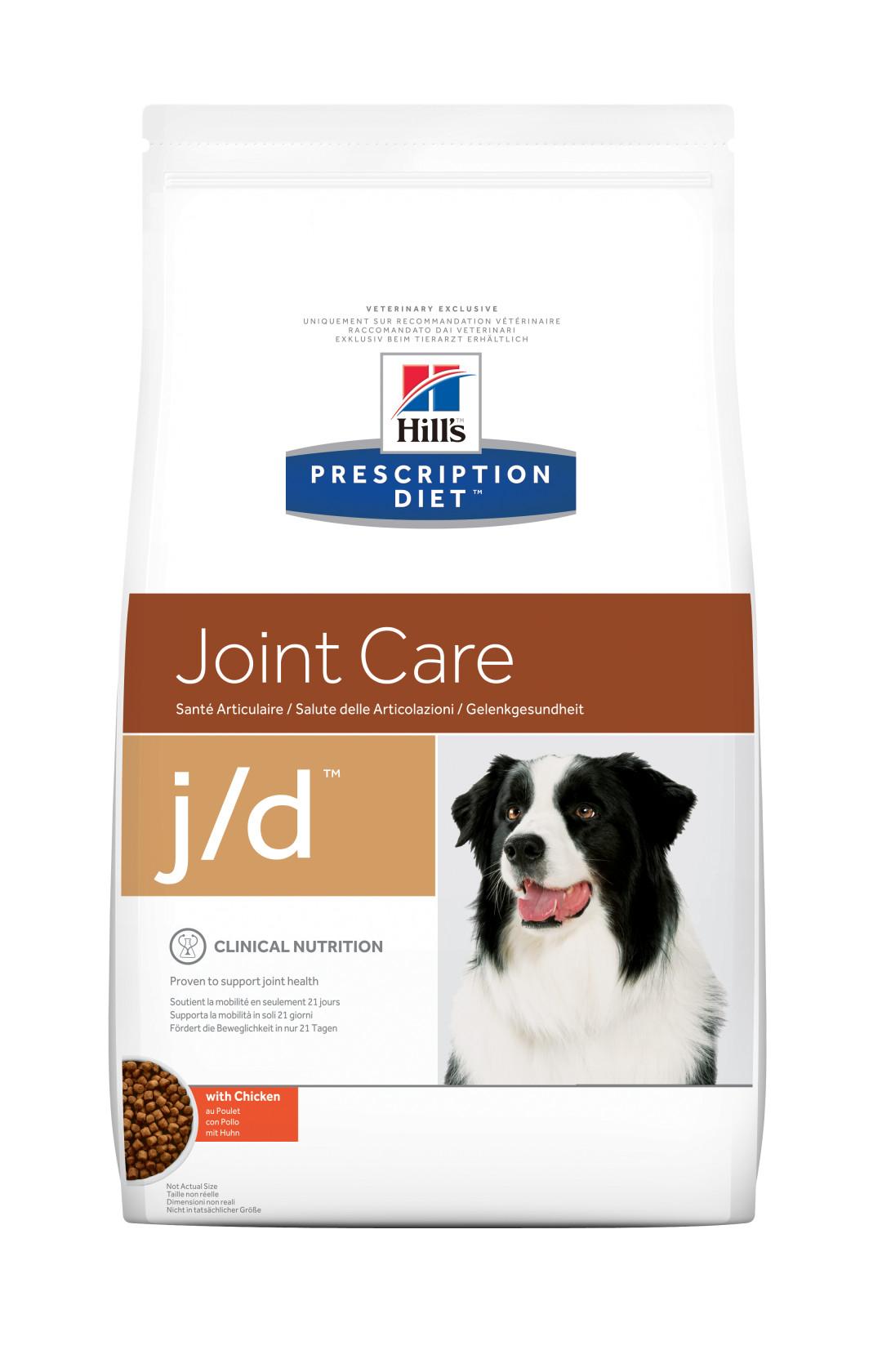 Hill's Prescription Diet hondenvoer j/d 12 kg