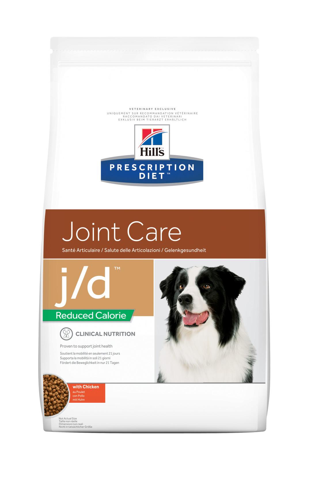 Hill's Prescription Diet hondenvoer j/d Reduced Calorie 4 kg