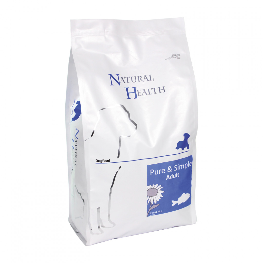 Natural Health Pure & Simple Adult fish 7,5 kg