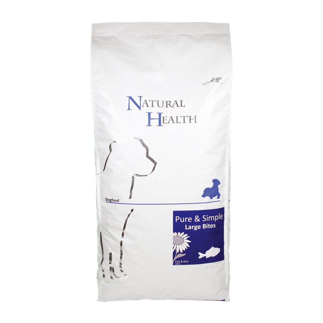 Natural Health Pure & Simple Large Bite fish <br>12,5 kg