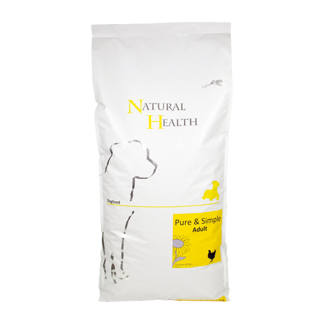 Natural Health Pure & Simple Adult chicken 12,5 kg