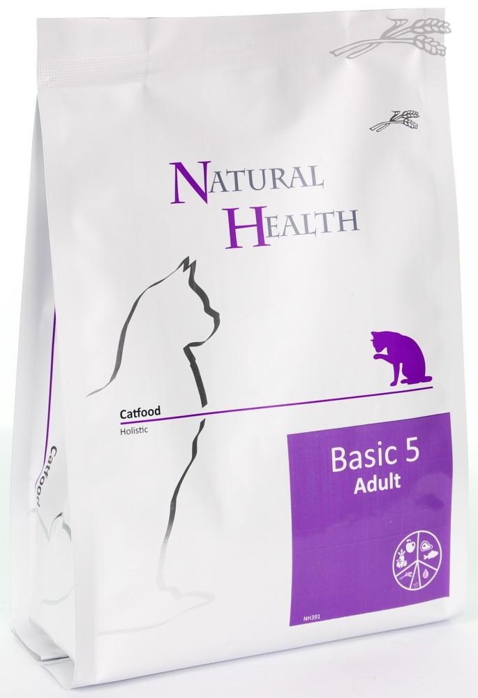 Natural Health kattenvoer Basic 5 <br>400 gr
