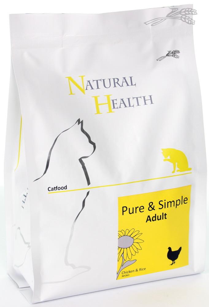 Natural Health kattenvoer Pure & Simple Adult 400 gr