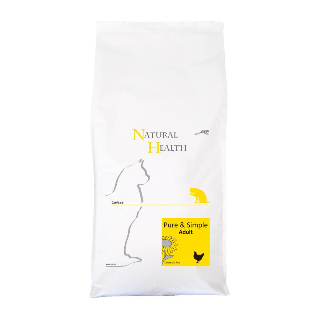Natural Health kattenvoer Pure & Simple Adult 7,5 kg