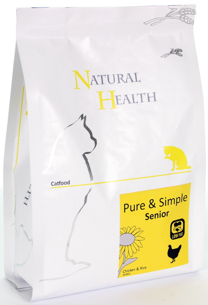 Natural Health kattenvoer Pure & Simple Senior 400 gr