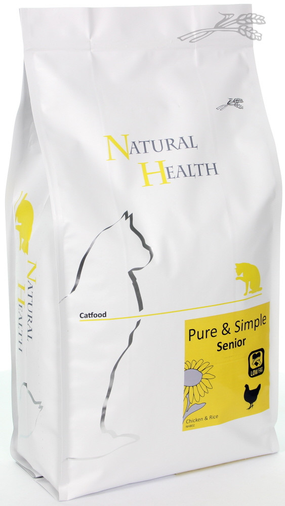Natural Health kattenvoer Pure & Simple Senior 7,5 kg