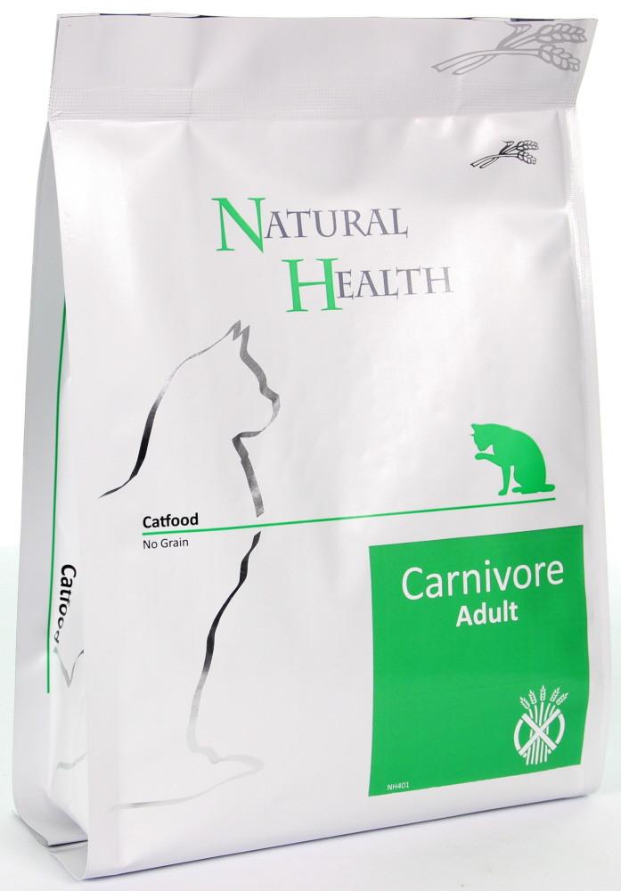 Natural Health kattenvoer Carnivore 400 gr
