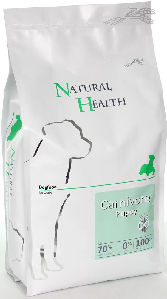 Natural Health hondenvoer Carnivore Puppy 3 kg