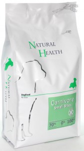 Natural Health hondenvoer Carnivore Small Bite 3 kg