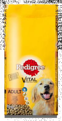 Pedigree hondenvoer Adult Gevogelte 15 kg