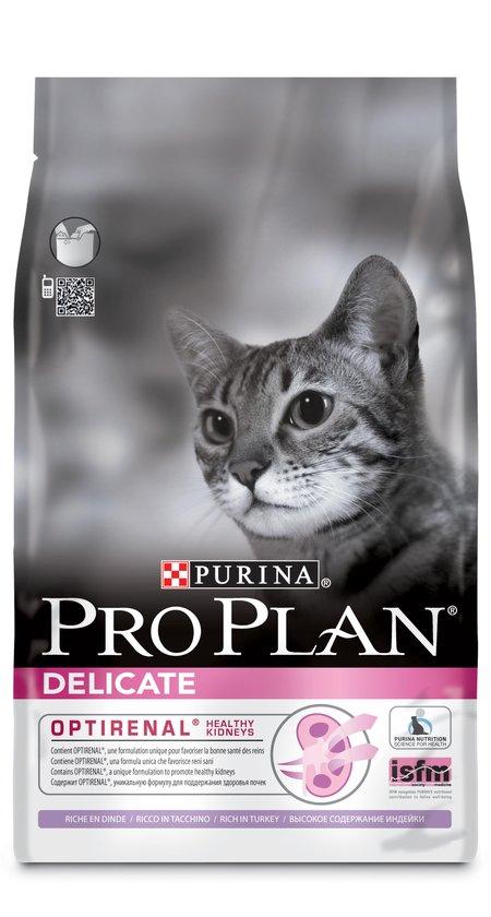 Pro Plan kattenvoer Delicate Kalkoen 3 kg
