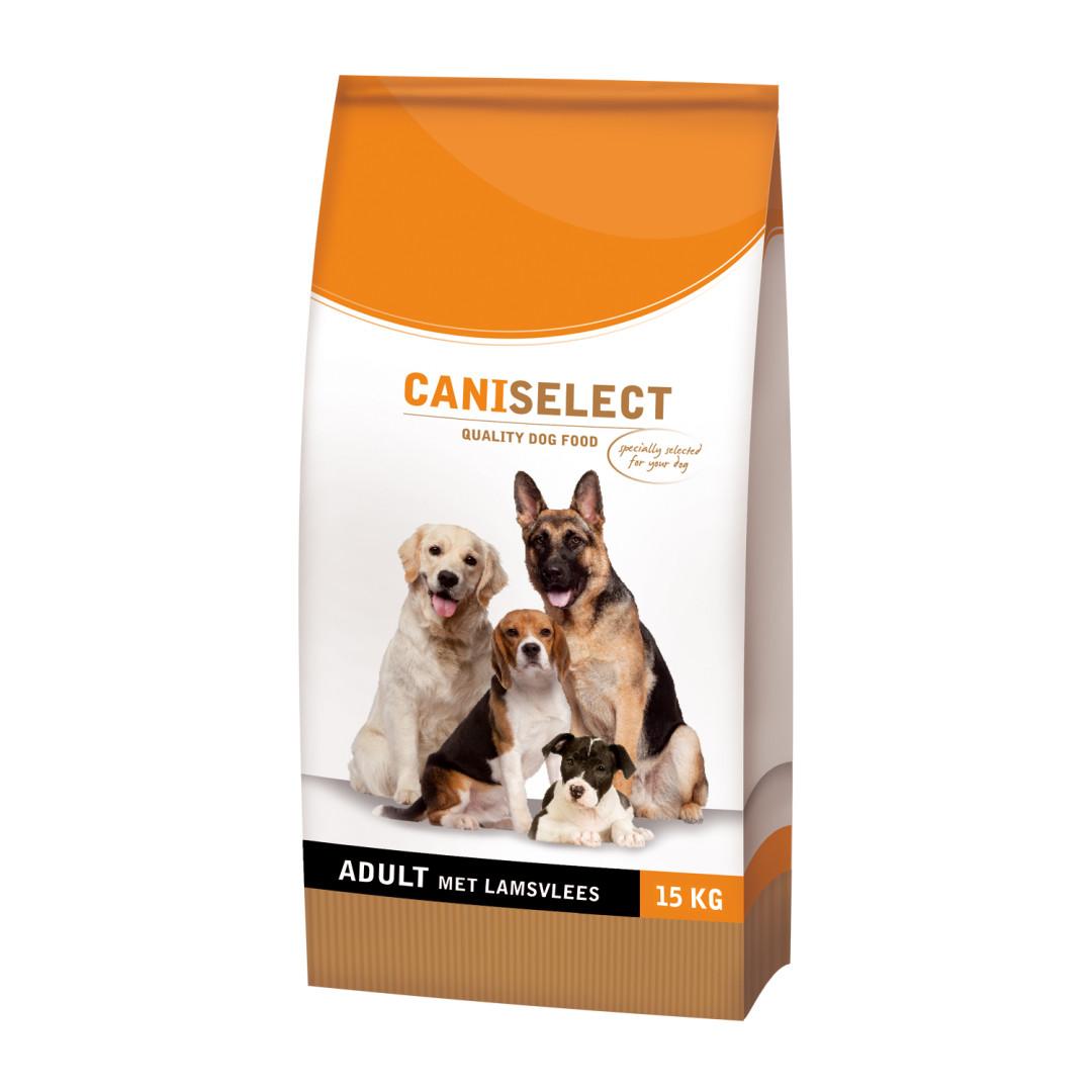 Caniselect hondenvoer Adult Lam 15 kg