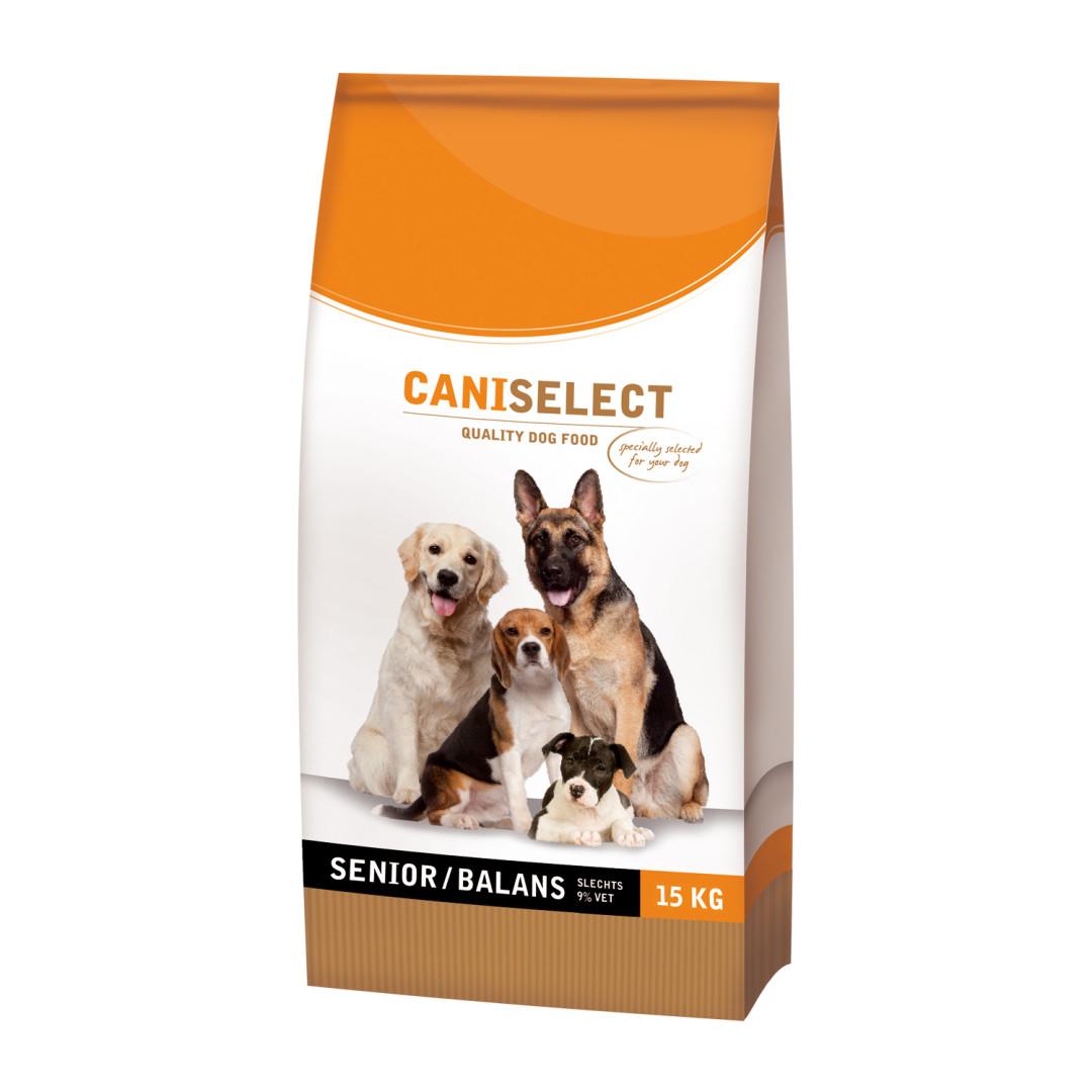 Caniselect hondenvoer Senior/Balans 15 kg