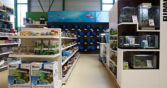 Een paradijs voor de aquariumliefhebber