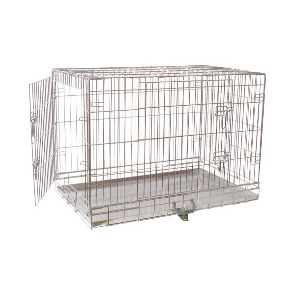 Premium hondenbench verzinkt