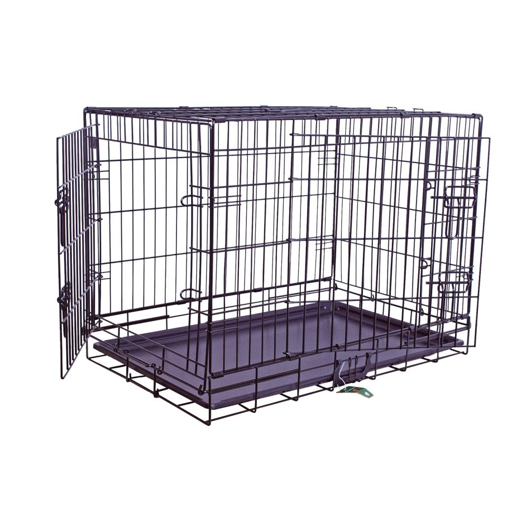 Premium hondenbench zwart