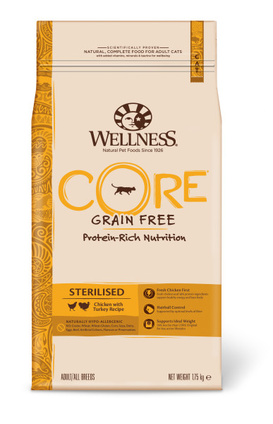 Wellness CORE kattenvoer Sterilised kip 1,75 kg