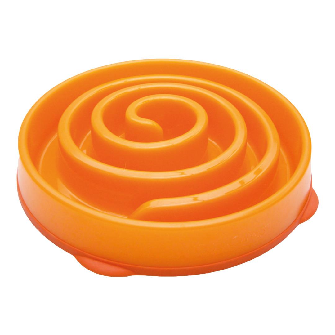 Fun Feeder antischrokbak oranje