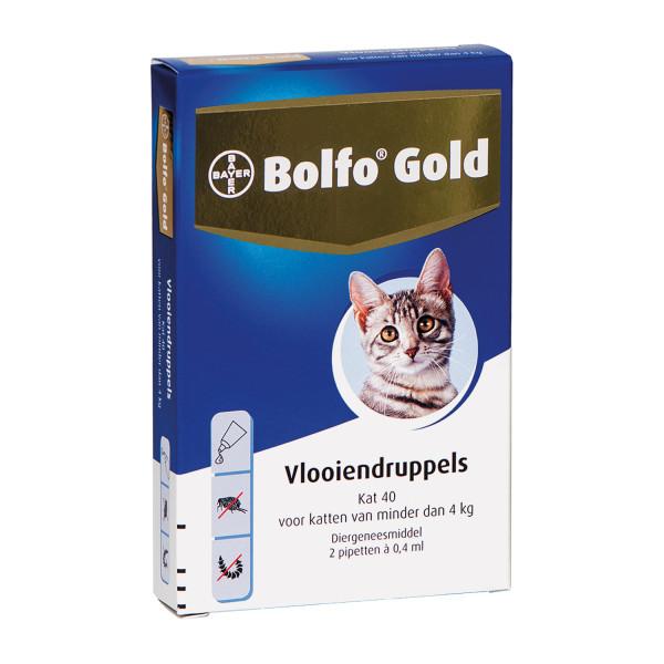 Bolfo Gold kat 40 <br>2 pipetten
