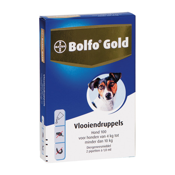 Bolfo Gold 100 vlooiendruppels <br>2 pipetten