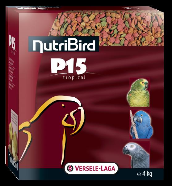 Nutribird P15 tropical <br>4 kg