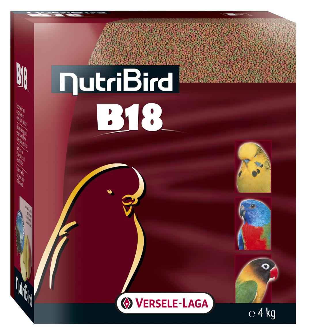Nutribird B18 kweekvoeder 4 kg