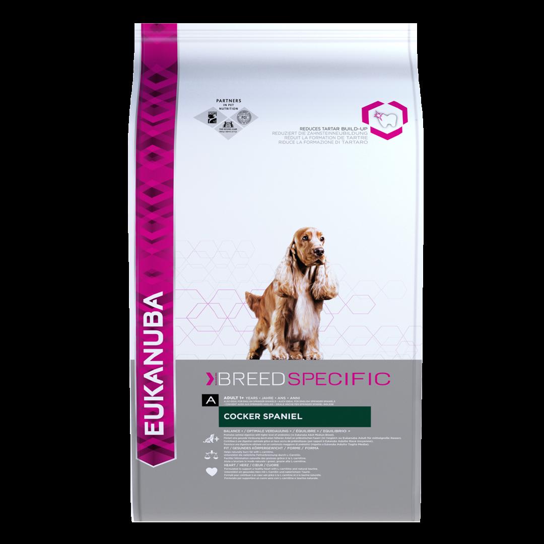Eukanuba hondenvoer Cocker Spaniel Adult 7,5 kg