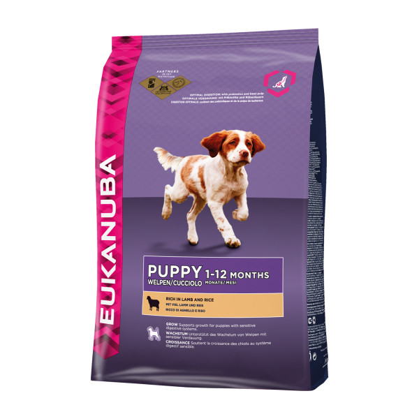 Eukanuba hondenvoer Puppy/Junior lamb & rice 12 kg