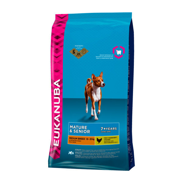 Eukanuba Medium Breed mature/senior kip 12 kg
