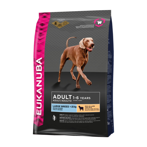 Eukanuba hondenvoer Large Breed Adult lamb & rice 12 kg
