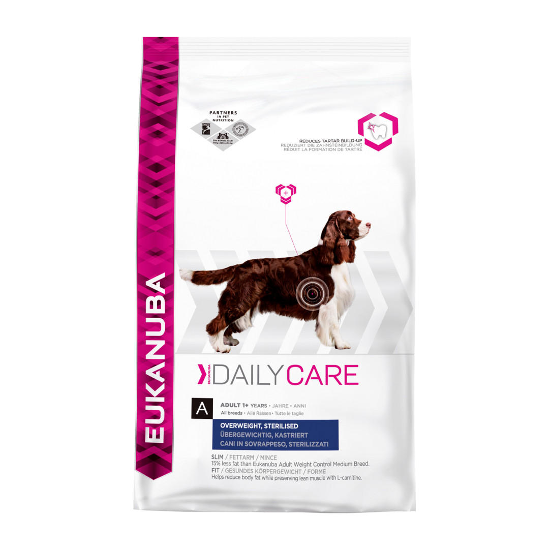 Eukanuba Daily Care Medium Overweight/ Sterilised 2,5 kg