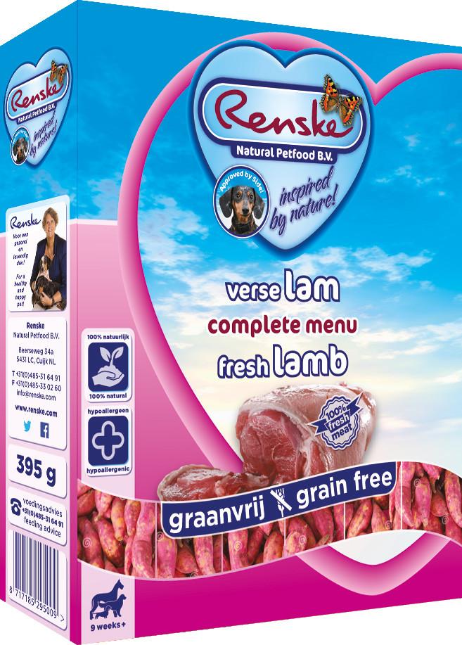 Renske Vers hondenvoer Graanvrij Adult lam 395 gr