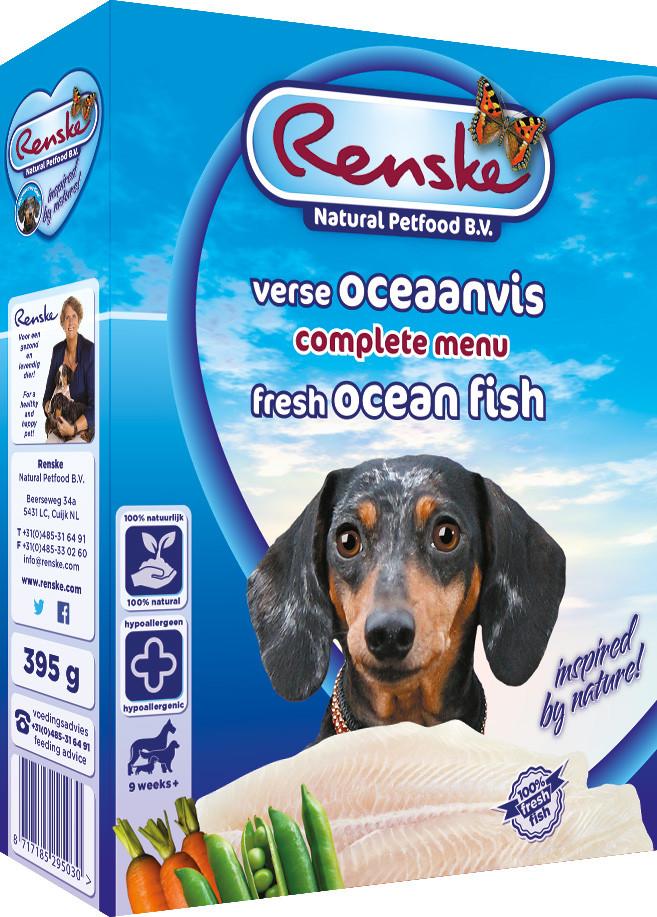 Renske Vers hondenvoer oceaanvis 395 gr