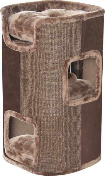 Krabtoren 75 cm bruin/mokka