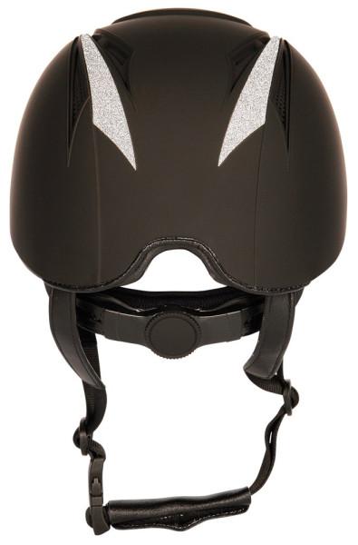 Harry's Horse rijhelm Challenge sparkle zwart