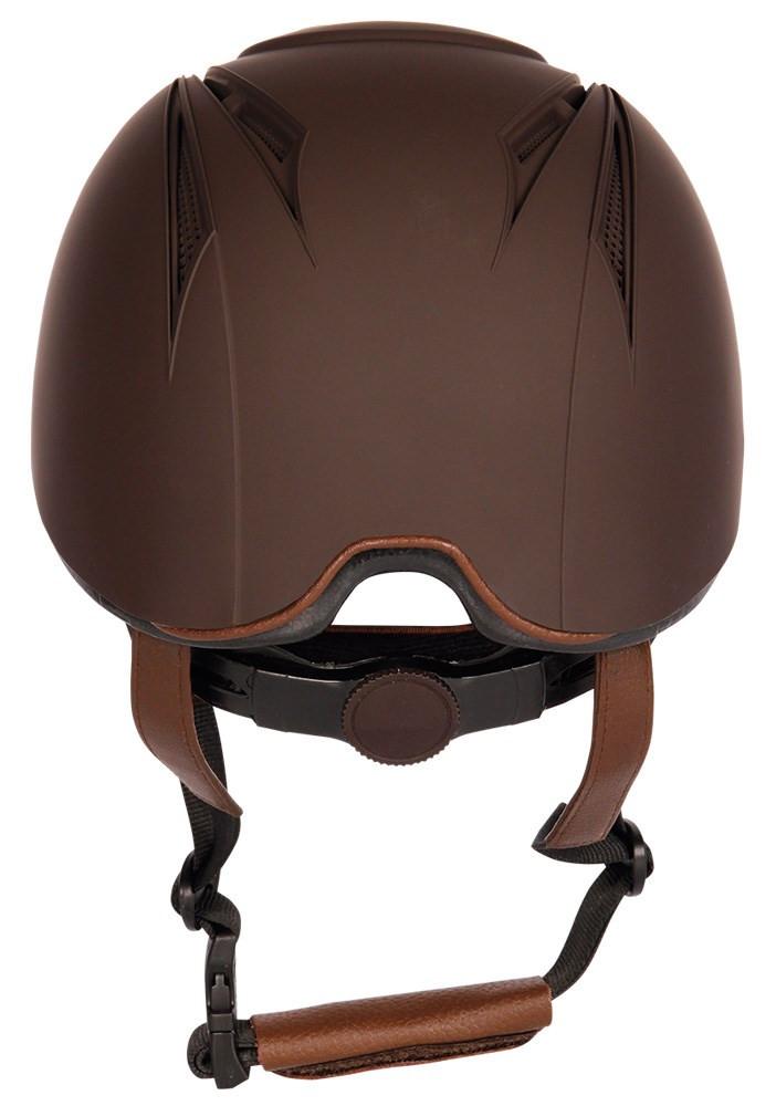 Harry's Horse rijhelm Challenge bruin