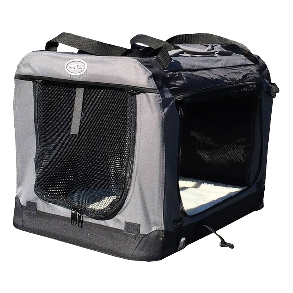 Innopet Carrier-all-in-One opvouwbare hondenbench