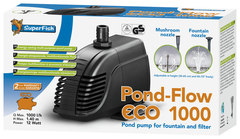 SuperFish vijverpomp Pond Flow-Eco 1000