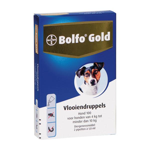 Bolfo Gold 100 vlooiendruppels <br>4 pipetten