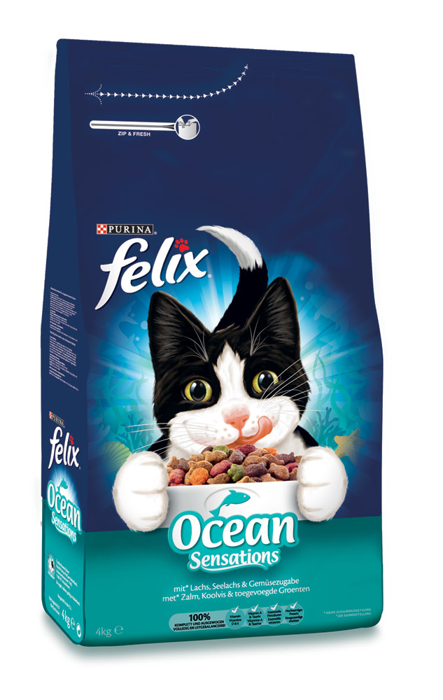 Felix kattenvoer Ocean Sensations Vis <br>4 kg