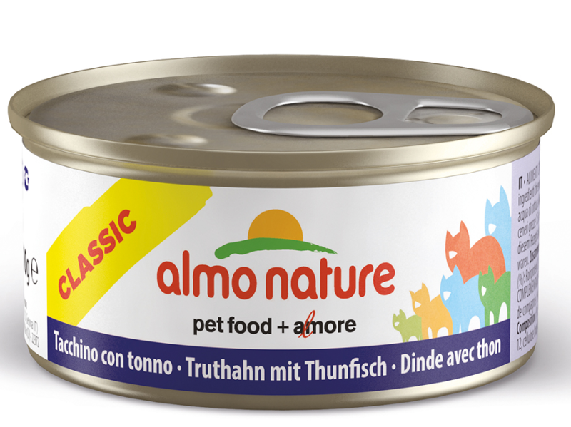 Almo Nature kattenvoer Legend kalkoen & tonijn 70 gr