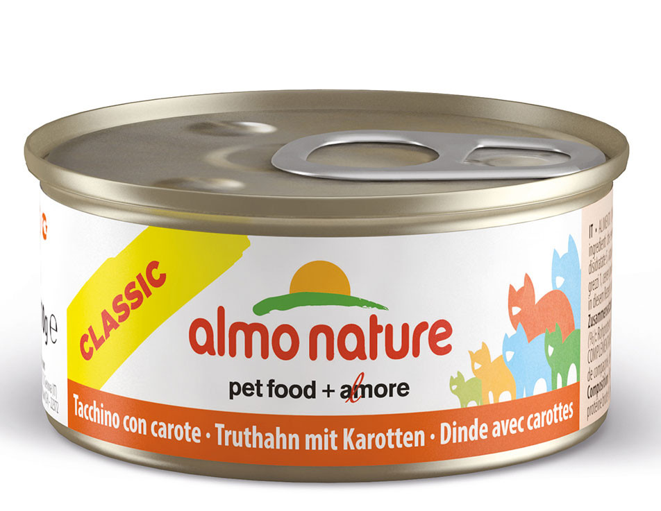 Almo Nature kattenvoer Legend kalkoen & wortel 70 gr
