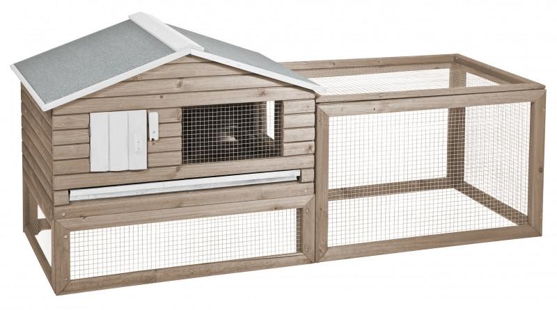 Woodland konijnenhok Snoozer Cottage