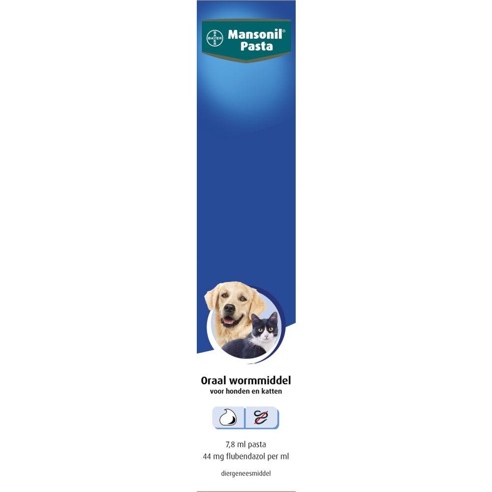 Mansonil ontwormingspasta <br>7,8 ml