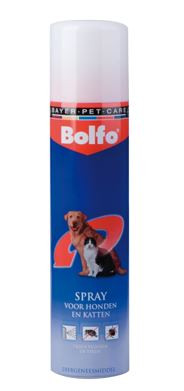 Bolfo spray anti-vlo en teek 250 ml