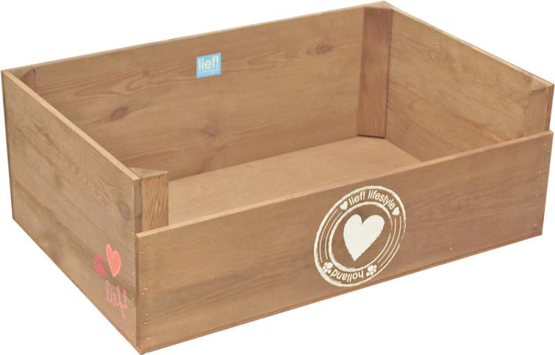 lief! lifestyle Girls houten mand