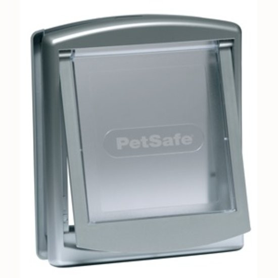 PetSafe Staywell Original 2-Way kattenluik zilver